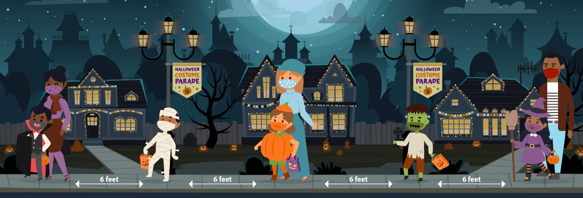 CDC Halloween COVID Tips