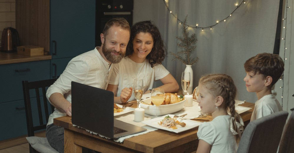 Virtual Thanksgiving with Family