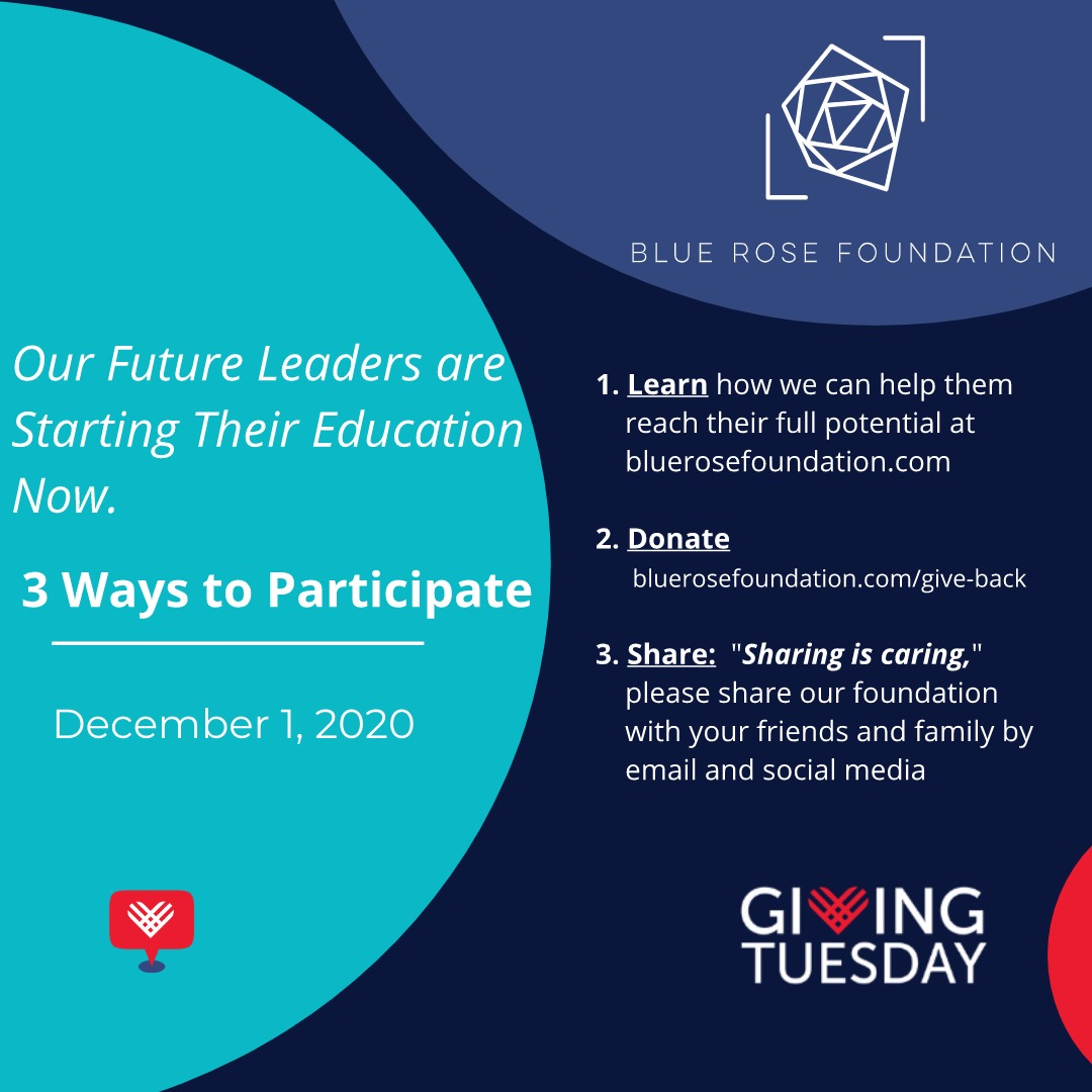 #GivingTuesday for the Blue Rose Foundation