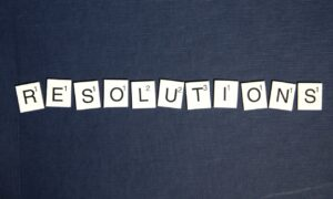 New Year Resolutions from the Blue Rose Foundation