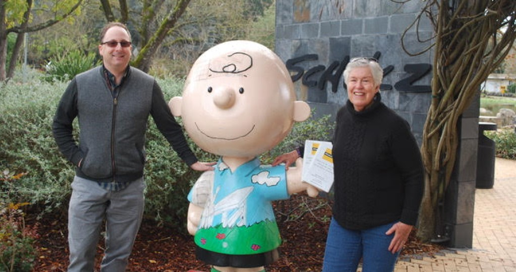 Ginger Wadsworth Talks About Charles Schultz Peanuts Books